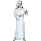 Mary Costume, includes robe and headpiece.