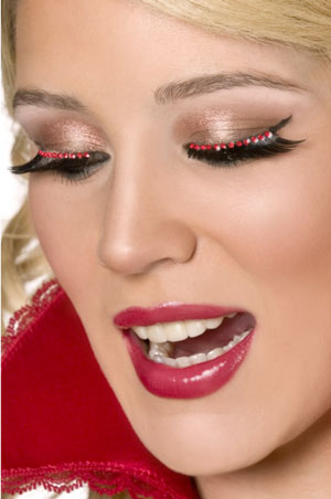 Red Crystal  Eyelashes