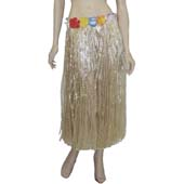 80cm Grass Skirt with flowers