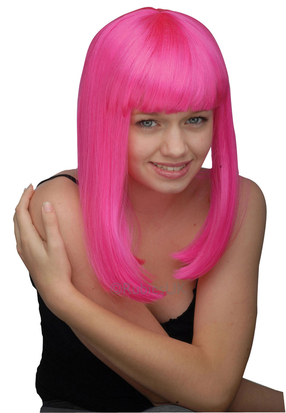 short pink wigs long pink wigs