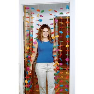 Luau Party Decorations on Luau Flower Door Curtain   Fancy Dress Costumes   Party Supplies