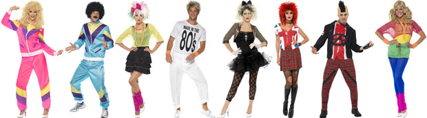 80s Adult Fancy Dress Costumes