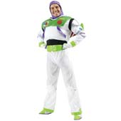 Buzz Light Year Costume, includes padded 2-piece suit, detachable rocket wings, gloves and headpiece.