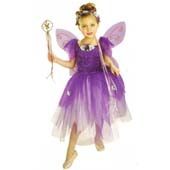 Plum Pixie Costume, includes dress, headpiece, wings and wand.