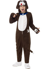 Battersea Bailey the Dog Costume, includes brown jumpsuit with Hood.