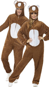 Bear Costume, includes jumpsuit with hood.