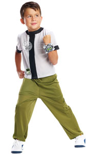 Jump into the world of Ben 10 with this Young Ben 10 Omniverse Costume, including top, trousers and watch.