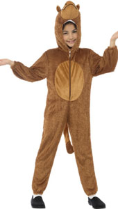 Plush Camel Costume includes jumpsuit with hood