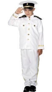 Captain Costume, includes trousers, jacket and hat.