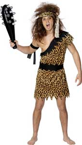 Caveman Costume, includes headband, tunic and armbands.