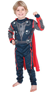 Thor Costume, includes printed jumpsuit.