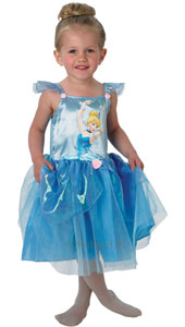 Little princesses will be bursting to get on their tippy toes once they see this stunning Cinderella dress.