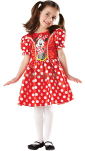 This lovely polka-dotted dress is as cute and loveable as Minnie Mouse herself. Cut down to there, but not too far, trimmed with gathered sleeves, you can wear it as a party dress indoors or for hiding in a cherry tree outdoors Classic Red Minnie Dr