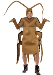 Cockroach Costume, includes bodysuit with sleeves