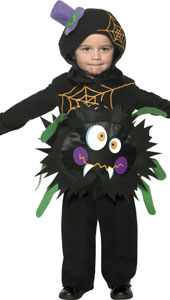 Crazy Spider Costume, includes tabard with hood.