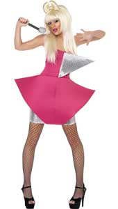 Dance Diva Costume, includes dress. WIG NOT INCLUDED - SOLD SEPARATELY.