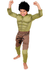 Bruce Banner was a normal kinda scientist until he was exposed to gamma radiation. Now you too can turn green at the drop of a hat with this Avengers favourite that comes complete with padded chest and grizzly wig! Deluxe Padded Muscle Chest Hulk Cos