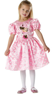 Pink Minnie Classic Costume, includes dress.