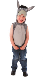 Donkey Tabard with Printed Hood Detail.