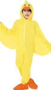 Duck Costume, includes all in one jumpsuit with Hood.