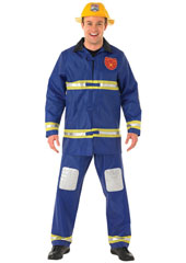 Little boys dream of growing up to be firemen. Little girls dream of going out with them. Fan the flames of passion as you slide down your pole, jump into your firefighter's suit and go tearing round rescuing hearts before they melt. Fireman Costume,