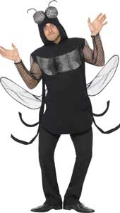 Fly Costume, includes tabard with hood.