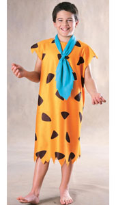 Fred Flintstone Costume, includes necktie and tunic.