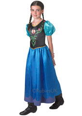 From the Movie Frozen, dress up as the brave and daring Princess Anna in this lovely Frozen Anna Costume.