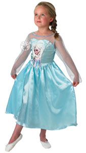 Frozen Elsa Classic Costume, includes dress only.