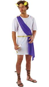 Gods and demi-gods everywhere, roll up Sometimes, it takes very little to achieve that titanic look. Perhaps only a Cyclops would fail to be impressed by your undying godly demeanour and your regal wreath glinting in the sun. Greek God Costume include