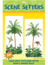 Palm Tree Add-ons. 85cm * 1.65m. Two giant decorations. Can be used on its own, or together with Room setters to produce a wonderful tropical scene.