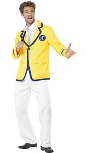 Holiday Rep Costume, includes jacket, mock shirt and trousers.