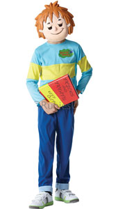 Horrid Henry Costume, includes printed top, trousers and EVA mask.
