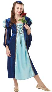 Juliet Costume, includes headpiece and dress.