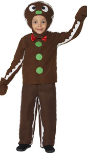 Little Ginger Man Costume, includes top, trousers and headpiece.