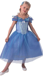 Blue Ball Gown with butterflies that Ella wears to the ball the lavish live action retelling of the Classic Cinderella Story by Kenneth Brannagh.  Includes dress and butterfly comb.