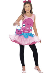 Moshi Monsters Poppet Costume, includes tutu dress, headband and bag. LEGGINGS NOT INCLUDED.