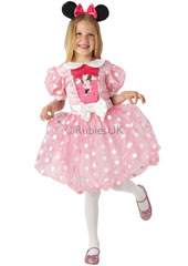 Give us a twirl and a curtsey in this lovely little pink number and you'll look ready to walk into any fairy castle Your dress with its marshmallow colours will bring a touch of magic to any occasion, especially with your Minnie ears Pink Glitz Minni