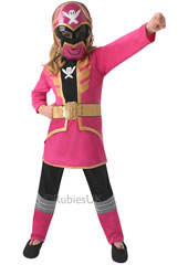 Pink Super Megaforce Blue Costume, includes mask, top and trousers.