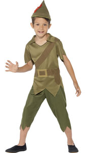 Robin Hood, the myth, the legend.  Robin hood costume includes top, trousers and hat.