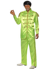Sergeant Pepper Green Costume, includes jacket and trousers.