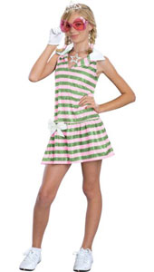 High School Musical Sharpay Golf Dress. Costume, includes dress and glove.