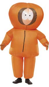 South Park Kenny Costume, includes inflatable suit and gloves.