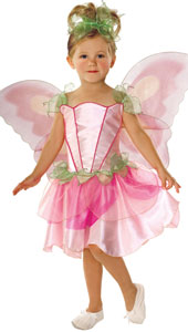 Springtime Fairy Costume, includes dress, wings and headpiece.