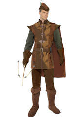 Storybook Prince Costume, includes top, trousers, cape, hat and belt sword holder.
