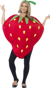 Be the pick of the bunch in this Smiffys Strawberry Costume.  This super sweet costume is complete with a red printed tabard and headpiece.
