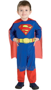 Superman Costume, includes jumpsuit and cape.