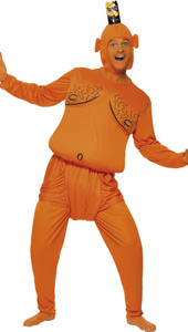 Tango Man Costume, includes top, trousers and headpiece.