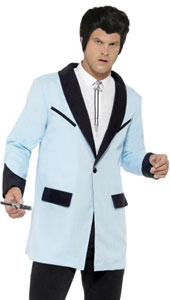 Everyone loves a Teddy Boy and now you can transform into one with the Smiffys Teddy Boy Jacket in Baby Blue.