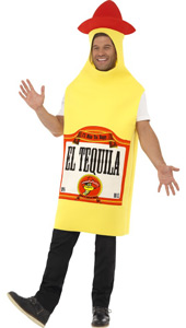 Tequila Bottle Costume. Jumpsuit.